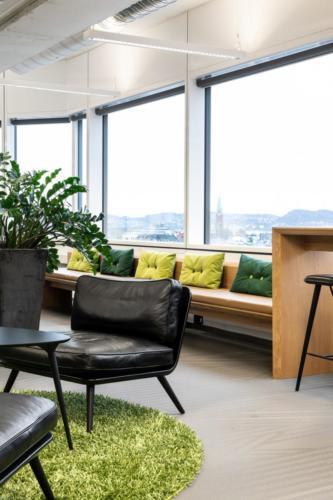 Pynteputer for Deloitte Bergen kontoret