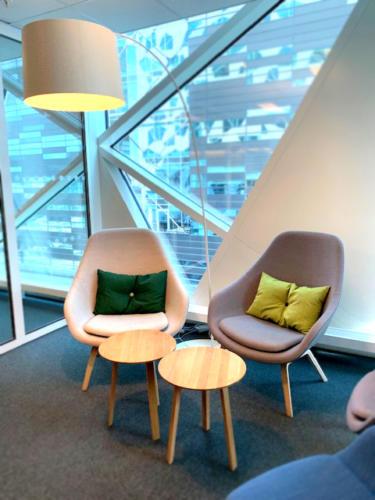 Pynteputer for Deloitte Bjørvika kontoret